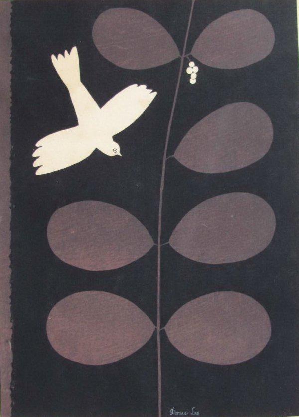Bird And Vine by Doris Lee