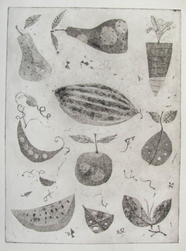Fruits And Vegetables by Arnold Blanch