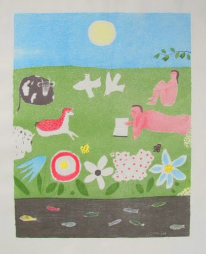 Peaceable Kingdom by Doris Lee at