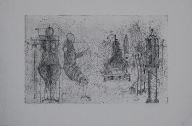 Skulpturen / Sculptures by Edgar Augustin at Sylvan Cole Gallery