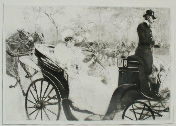 La Promenade by Edgar Chahine