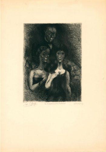 La Naissance D'un Sentiment by Edouard Goerg