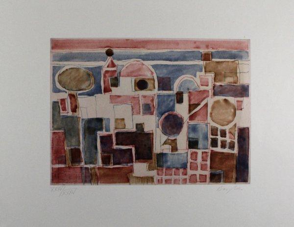 Forio D'ischia by Eduard Bargheer