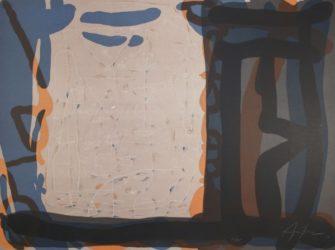 Casa Con Anaranjada / House With Orange by Eduardo Arranz-Bravo at Sylvan Cole Gallery