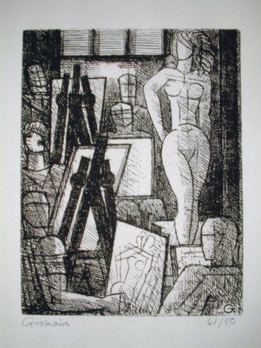 L'académie De Peinture by Marcel Gromaire