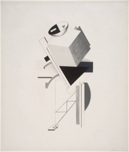 Posten (post) by El Lissitzky
