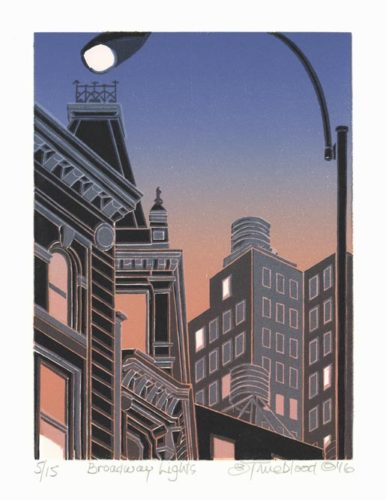 Broadway Lights by Emily Trueblood