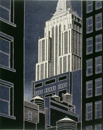 City Night by Emily Trueblood