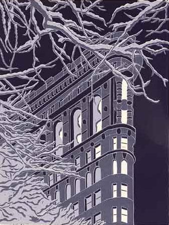 Winter Flatiron by Emily Trueblood