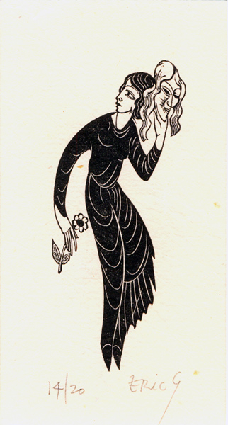 The Constant Mistress by Eric Gill