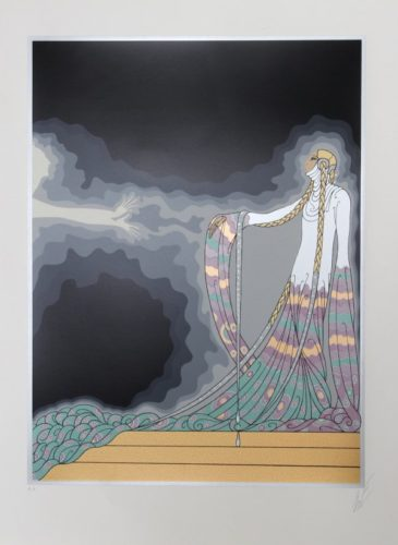 Melisande From The At The Theater Suite by Erte