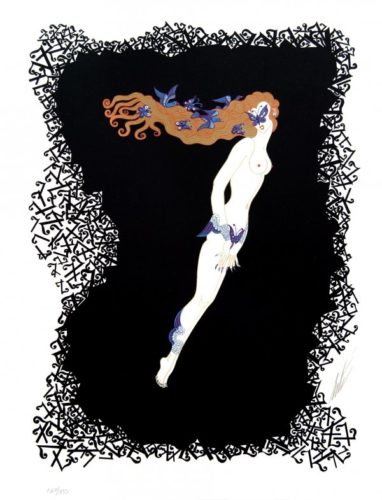 Numeral 7 by Erte