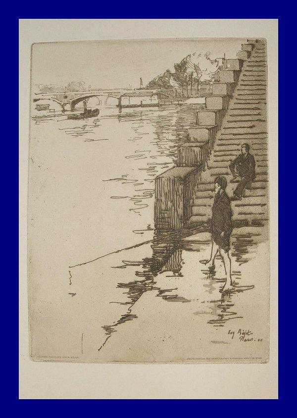 L'escalier by Eugène Béjot