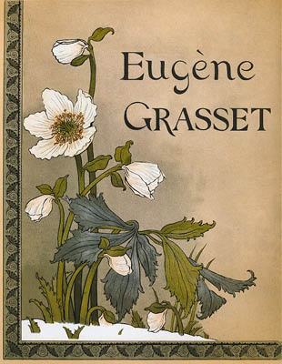 Roses De Noël / Christmas Roses by Eugène Grasset at
