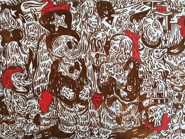 Moi Versus Moi by Fabien Verschaere at Frank Fluegel Gallery