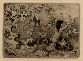 Le Diable Amoureux by Felix Buhot at