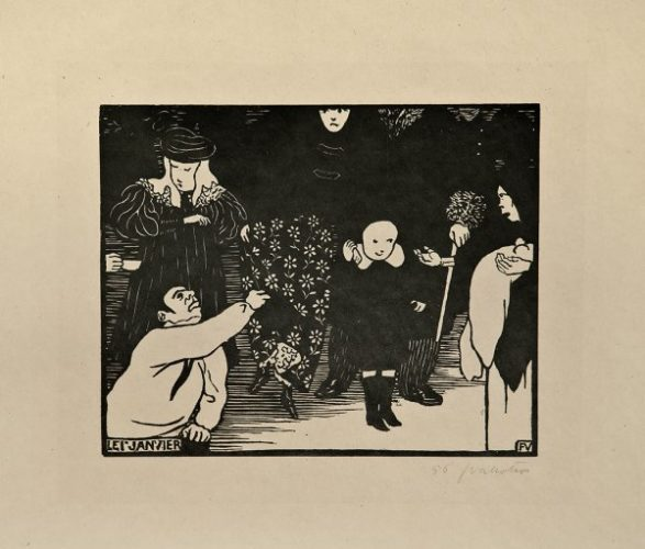 Le Ier Janvier by Felix Vallotton at