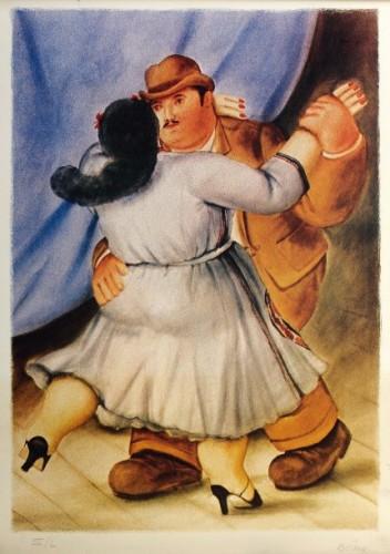 Les Danseurs by Fernando Botero