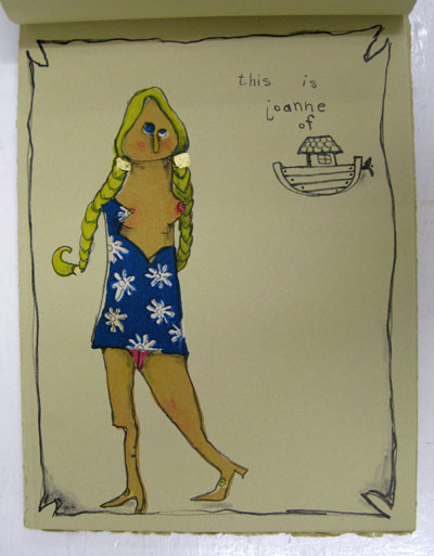 Joan Of Ark by Flip Hattingh