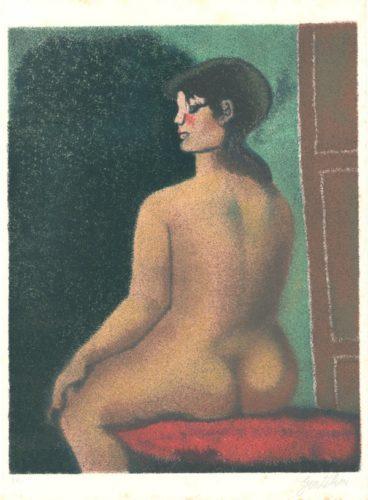 Nude by Franco Gentilini