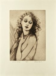Delores Costello by Frank Martin at Editions Graphiques Ltd