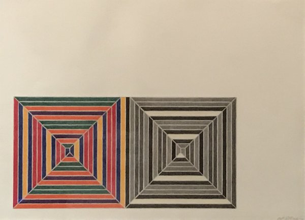 Les Indes Galantes V by Frank Stella at
