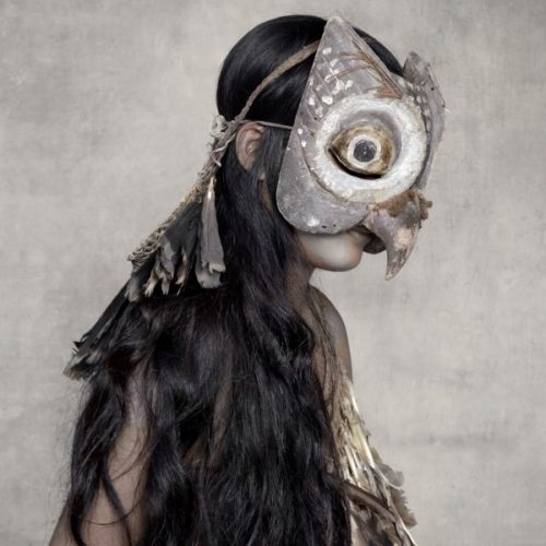 Young Woman With Owl Mask, Sunda Islands by Fred Stichnoth