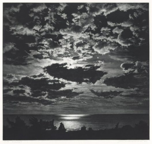 Moonlight by Frederick Mershimer at Conrad R. Graeber Fine Art (IFPDA)