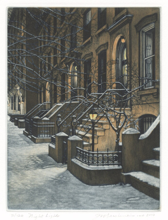 Night Lights by Frederick Mershimer