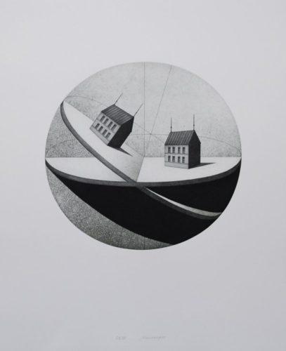 Schiefe Ebene by Friedrich Meckseper