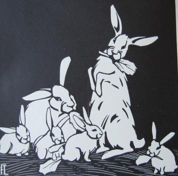 Rabbits by Fritz Lang