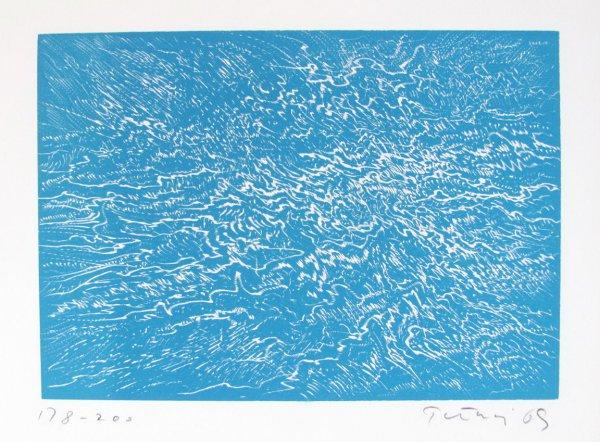 Blue Surf by Gabor Peterdi