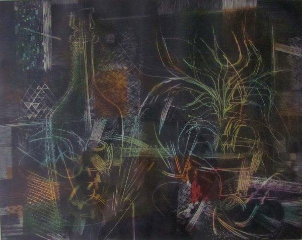Still Life I by Gabor Peterdi