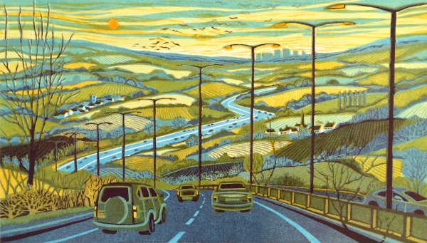 From The Motorway by Gail Brodholt