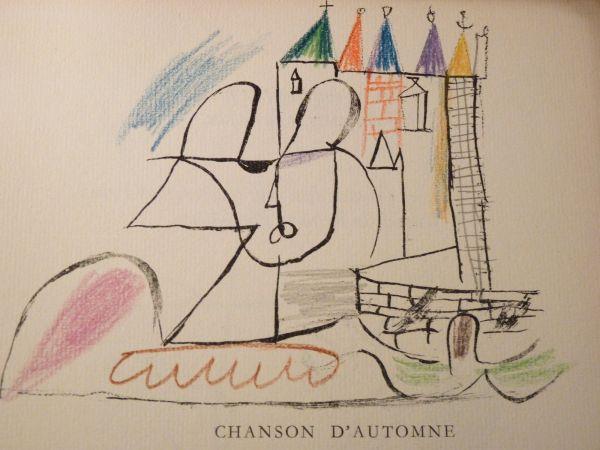 Par Robert Ganzo. Avec Vingt-trois Lithographies Rehaussées De Couleurs De Gaston-louis Roux. by Gaston-Louis Roux