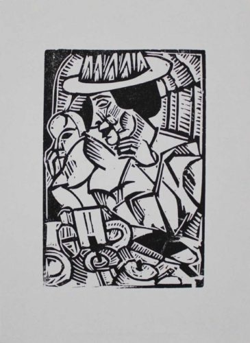 Im Café by Georg Tappert