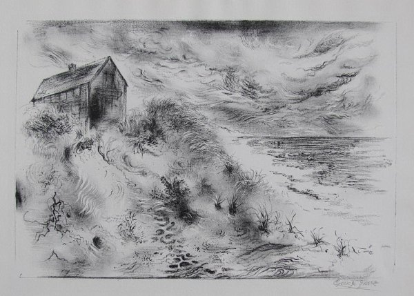 Storm Clouds, Cape Cod by George Grosz at