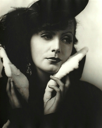Greta Garbo by George Hurrell at