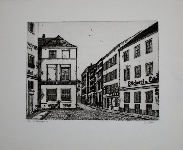 Die Sperlingsgasse by Gerda Vetter