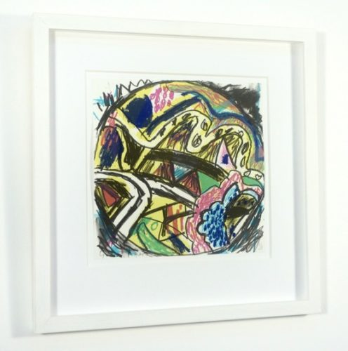 Crystal Fields by Gillian Ayres at