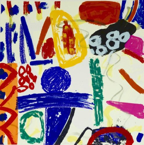 Much Is The Force Of A Heaven Bred Poesy by Gillian Ayres at
