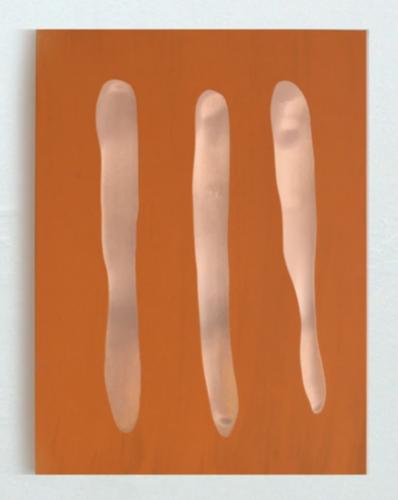 Mr Orange by Günther Förg at