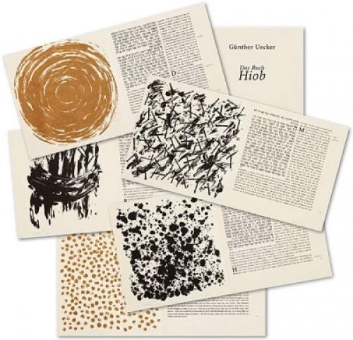 Hiob Mappe (47) by Gunther Uecker