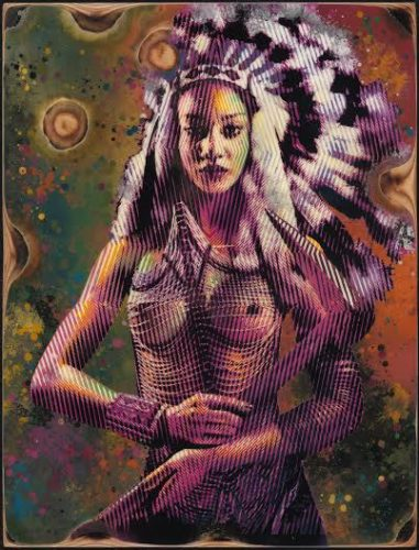 Apache Girl by Goldie at