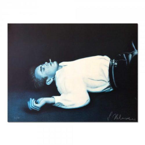 Fallen Angel (james Dean) by Gottfried Helnwein