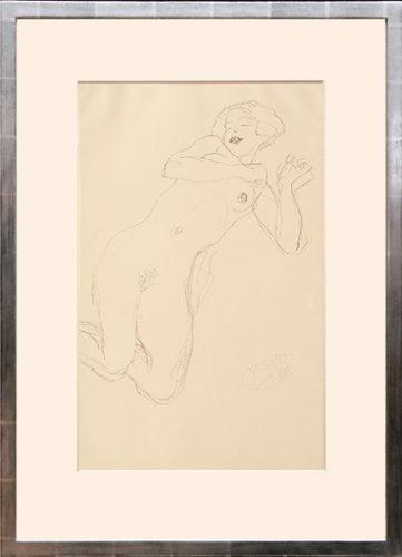 """Studie Zur """"jungfrau"""". Study Of The """"virgin"""" by Gustav Klimt"""