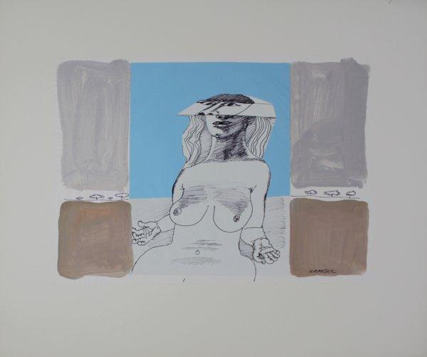 Woman by Hans Graeder