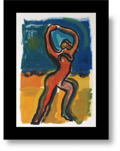 Dancing Nude by Helen Manning (Clark)