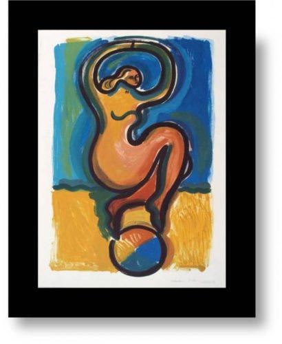 Dancing Nude I by Helen Manning (Clark)