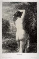 Baigneuse Debout (3º Planche) by Henri Fantin-Latour at